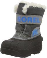 Sorel Infants' Snow Commander Pull On Winter Boot Fog/Gry 10 M US