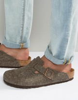 Birkenstocks Boston Wool Mules