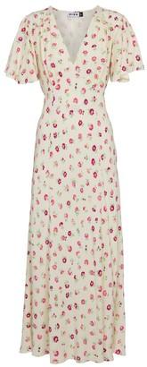 Rixo Bessie floral maxi dress