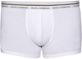 Dolce & Gabbana Stretch-cotton boxer trunks