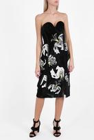 Erdem Rebecca Velvet Dress