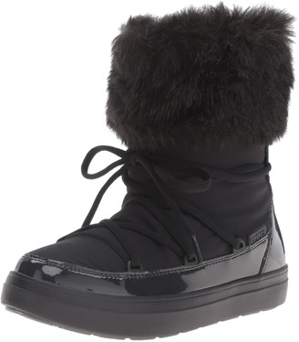 Crocs Women's Lodge Point Lace Snow Boot