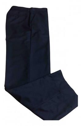 Officine Generale Navy Wool Trousers