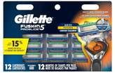 Gillette ProGlide® Billboard Pack Cartridges - 12ct