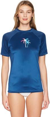 Kanu Surf Women's Hayley UPF 50+ Short Sleeved Active Rashguard & Workout Top