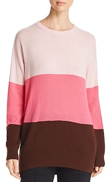 Moncler Color-Blocked Cashmere Sweater