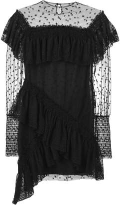 Philosophy di Lorenzo Serafini ruffled lace dress