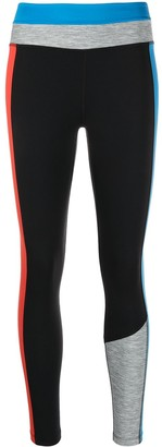 Nike One colour-block leggings