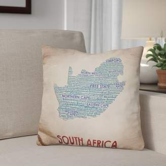Gerson Winston Porter South Africa Throw Pillow Winston Porter