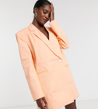 Collusion oversized boxy blazer dress