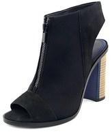 Elie Tahari Breeze Women Open-toe Leather Bootie.