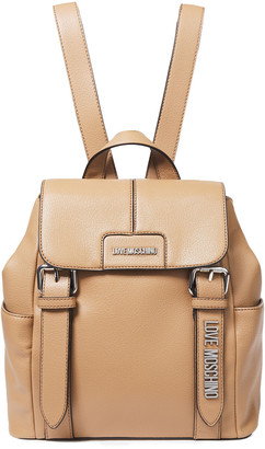 Love Moschino Faux Leather Backpack