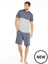 Very L/s Raglan Long Grindle Loungewear Set