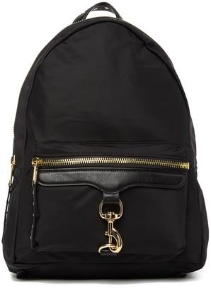 Rebecca Minkoff Always On MAB Leather Nylon Backpack