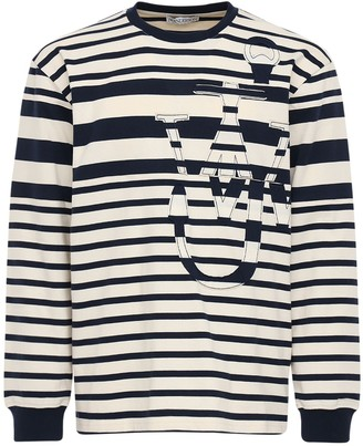 J.W.Anderson Laser Cut J Anchor Cotton Jersey T-Shirt