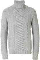 Edwin long sleeved roll neck sweater
