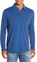 Tommy Bahama Men's 'Superfecta' Stripe Long Sleeve Polo