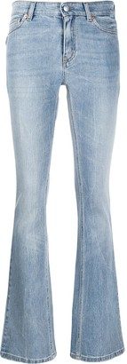 Zadig & Voltaire High Waisted Bootcut Denim Jeans