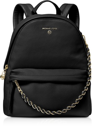 Michael Kors Slater Medium Pebbled Leather Convertible Backpack