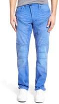 PRPS Men's 'Barracuda' Straight Leg Moto Jeans