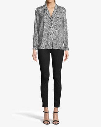 Express Cupcakes & Cashmere Adele Long Sleeve Top