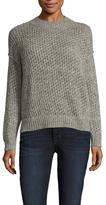 Wool Ribbed Crewneck Sweater