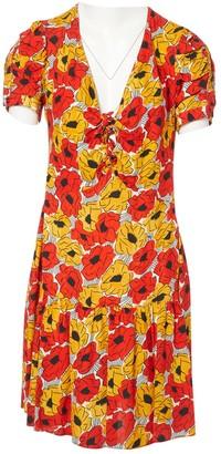 Saint Laurent Orange Viscose Dresses