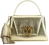 Handbag The Ekaterina Collection Gioia Satchel In Laminated Leather