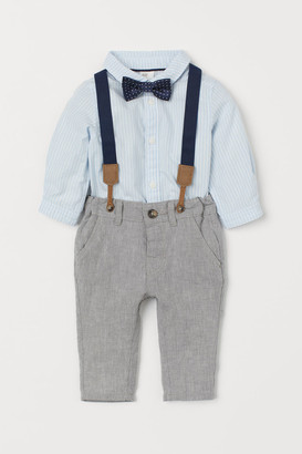 H&M Shirt and Pants - Blue