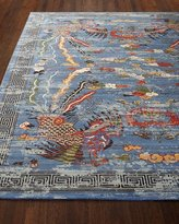 "Barclay Butera Imperial Blue Rug, 7'9"" x 9'9"""