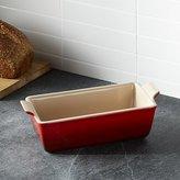Crate & Barrel Le Creuset ® Cerise Loaf Pan