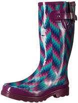 Western Chief Women's Aztec Zigzag Rain Boot