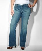 Levi's 580TM Defined Waist Boot Cut Jeans (Plus)