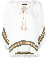 Roberto Collina buttoned loose-fit blouse
