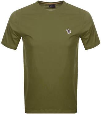 Paul Smith Regular Fit T Shirt Green