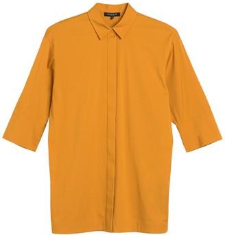 Lafayette 148 New York Wade Woven Shirt
