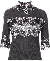 Giambattista Valli floral embellished pullover