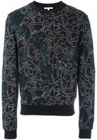 Carven skater print sweatshirt