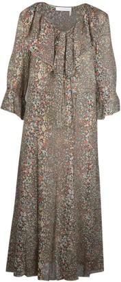 See by Chloe Printed Midi Dress