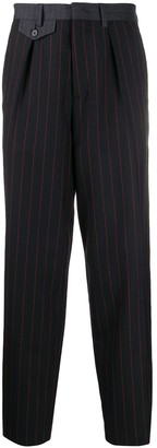 Mcq Swallow Pinstriped Tailored Trousers
