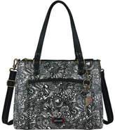 Sakroots Women's Artist Circle Large Convertible Satchel Shoulder Bags