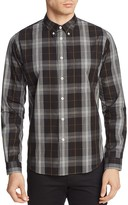 Paul Smith Plaid Slim Fit Button Down Shirt