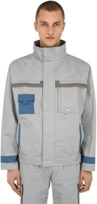 C2H4 Workwear Cotton Canvas Lab Jacket