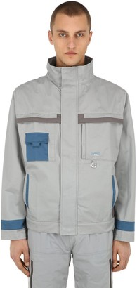 C2H4 Workwear Cotton Canvas Lab Jacket