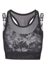 Ivy Park Double layer floral bra