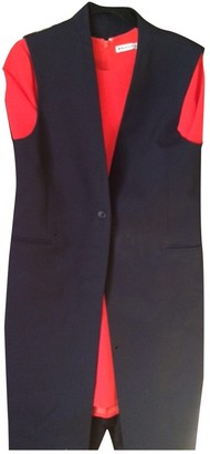 2nd Day Navy Wool Jacket for Women