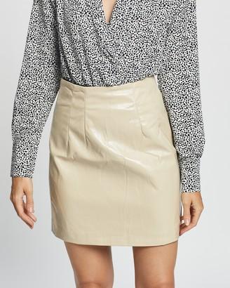 Glamorous Vinyl Mini Skirt