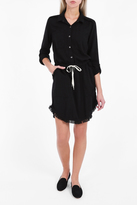 Splendid Fray Shirt Dress
