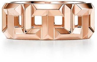 Tiffany & Co. T True 8 mm ring in 18k rose gold