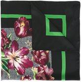 Dolce & Gabbana tulip print scarf